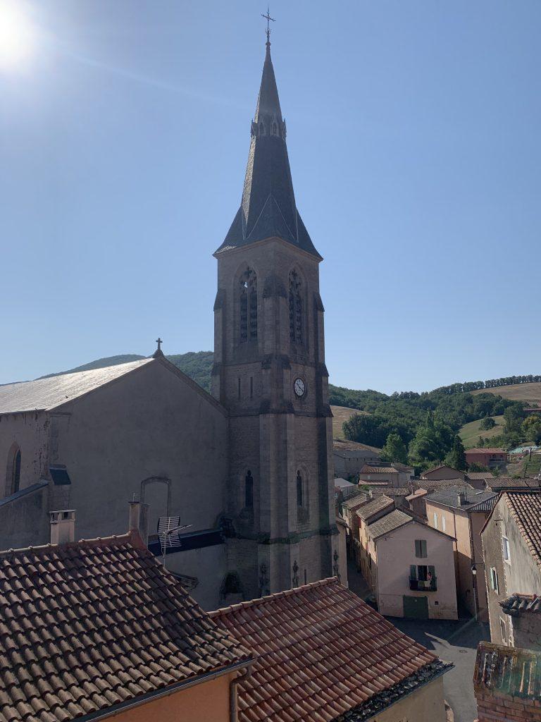 Clocher de Vabres-l'Abbaye