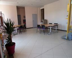 Open space du tiers-lieu l'Oustalou