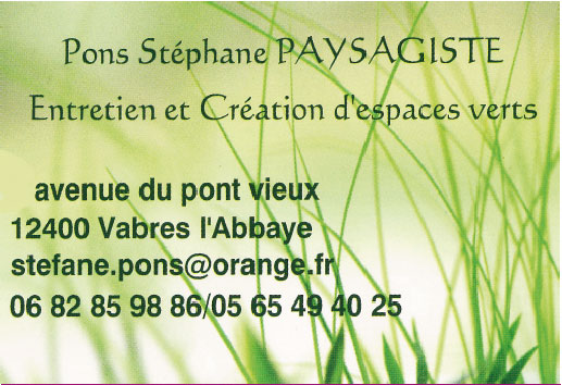 Paysagiste Stéphane Pons